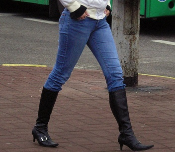 how not to wear tall boots