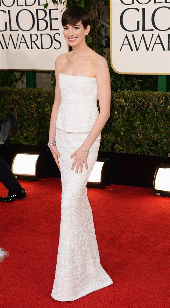 Best Dressed At 70th Golden Globe Awards 2013