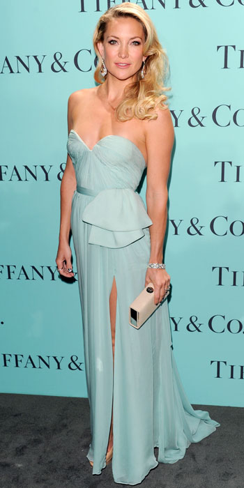 Kate Hudson Wears Tiffany Blue