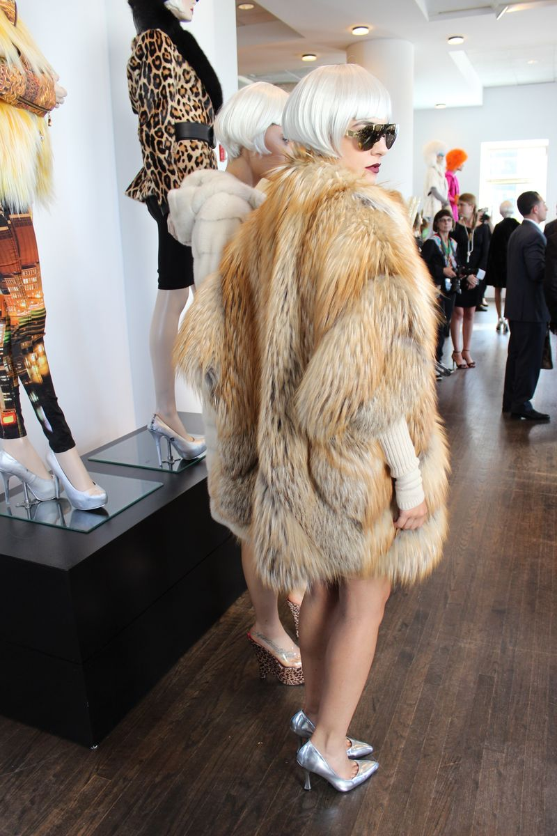 Patricia Field Styles Helen Yarmak Furs