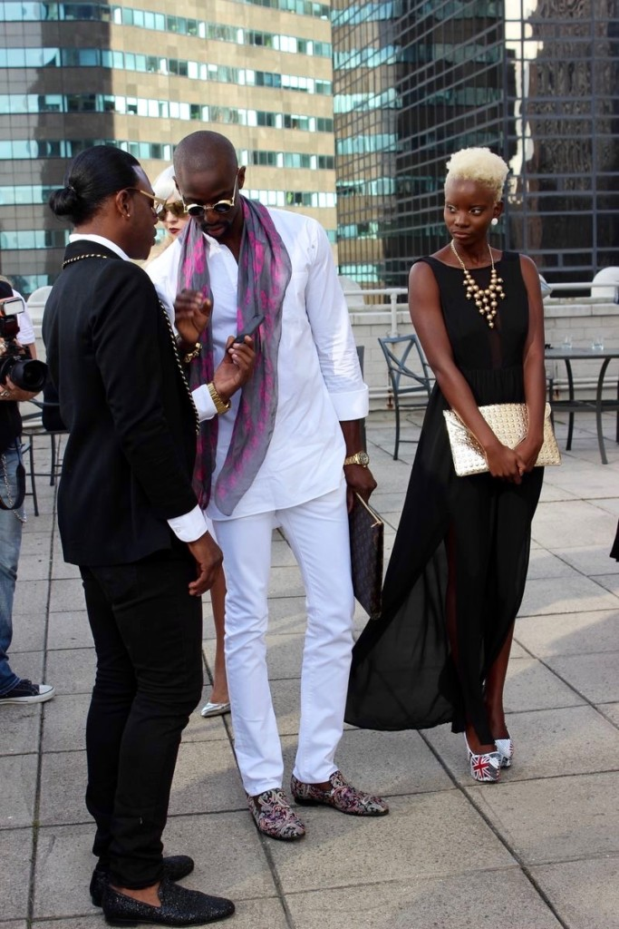 new york fashion week street fashion