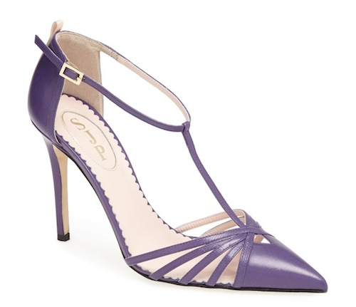 Carrie Pump Purple