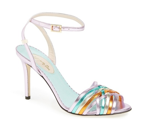 Maud Sandal Multi Pink Mint Orange