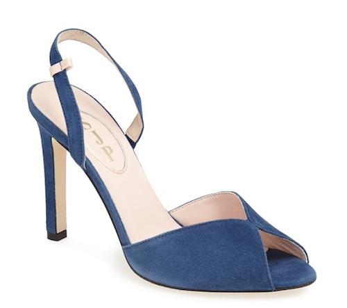 Slim Sandal Avio Blue