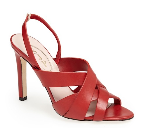 Stella Sandal Red