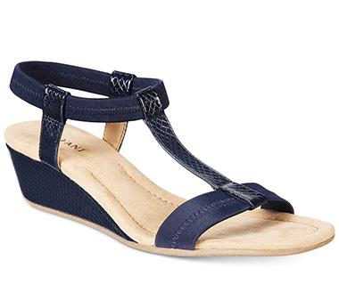 Navy Blue Sandal Wedges My Favorite Summer Sandal V Style