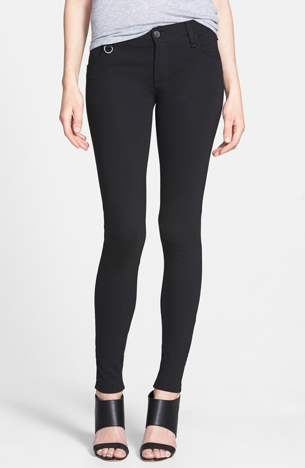 thick black leggings
