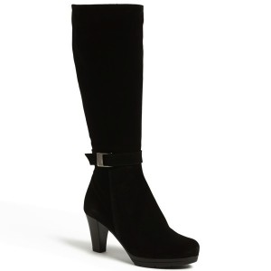 best black heeled boot