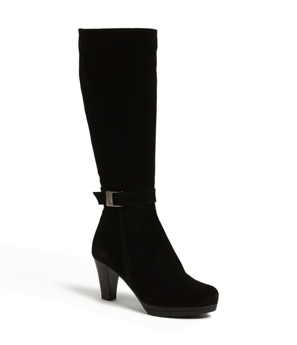 best black heeled boot