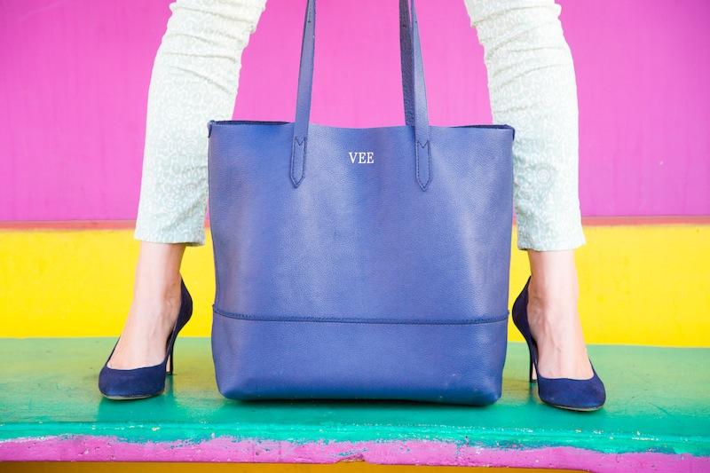 monogrammed handbags