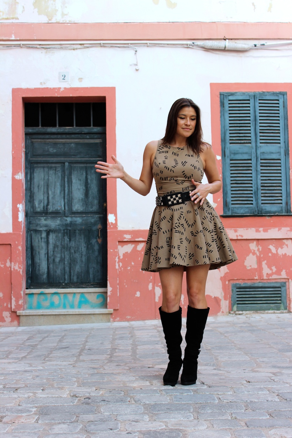 How To Wear Tall Boots With Dresses