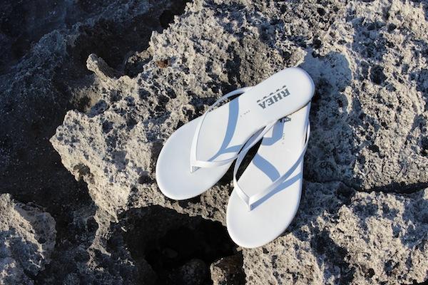 rhea non slip flip flops