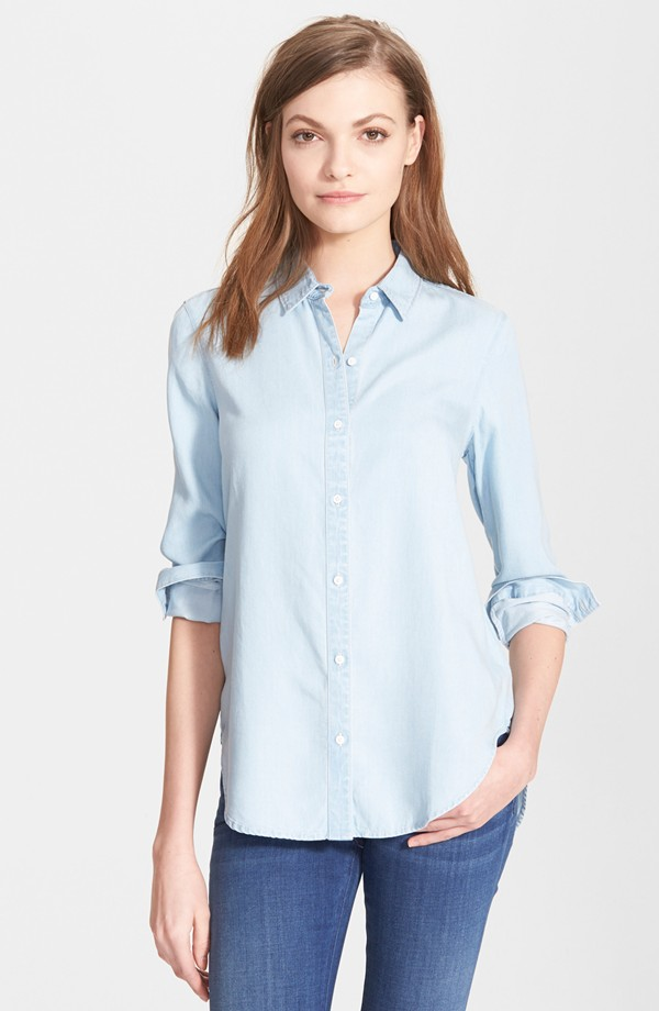 chambray shirt personal stylist