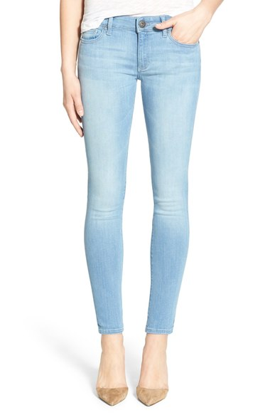 best light blue skinny jeans