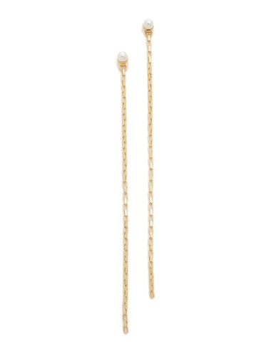 cloverpost shoulder duster earrings