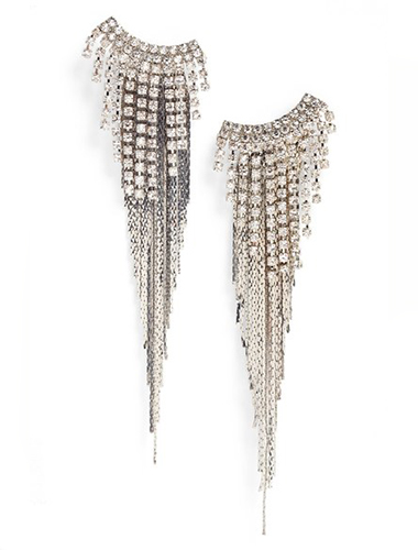 tasha fringe shoulder duster earrings