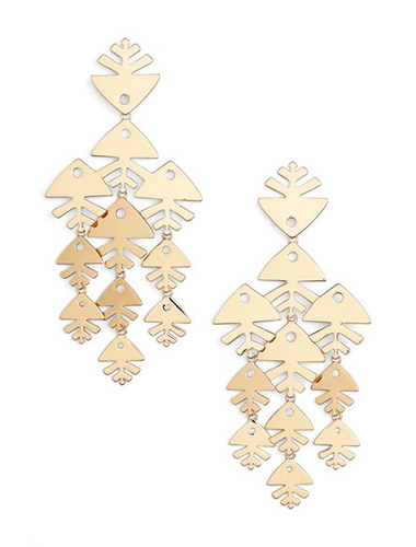 tort burch chandelier shoulder duster earrings