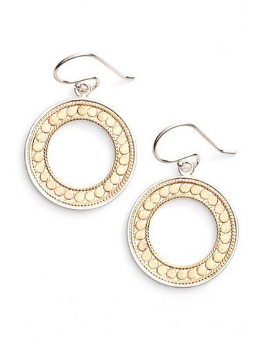 anna beck mixed metal earrings