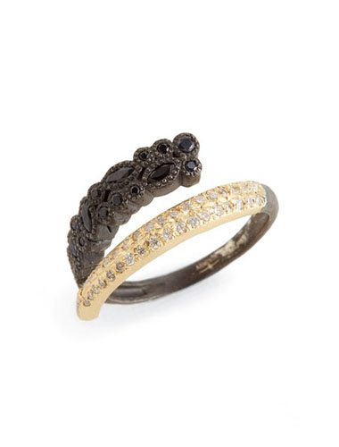 armenta mixed metal ring