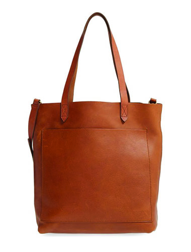 best summer leather tote bag