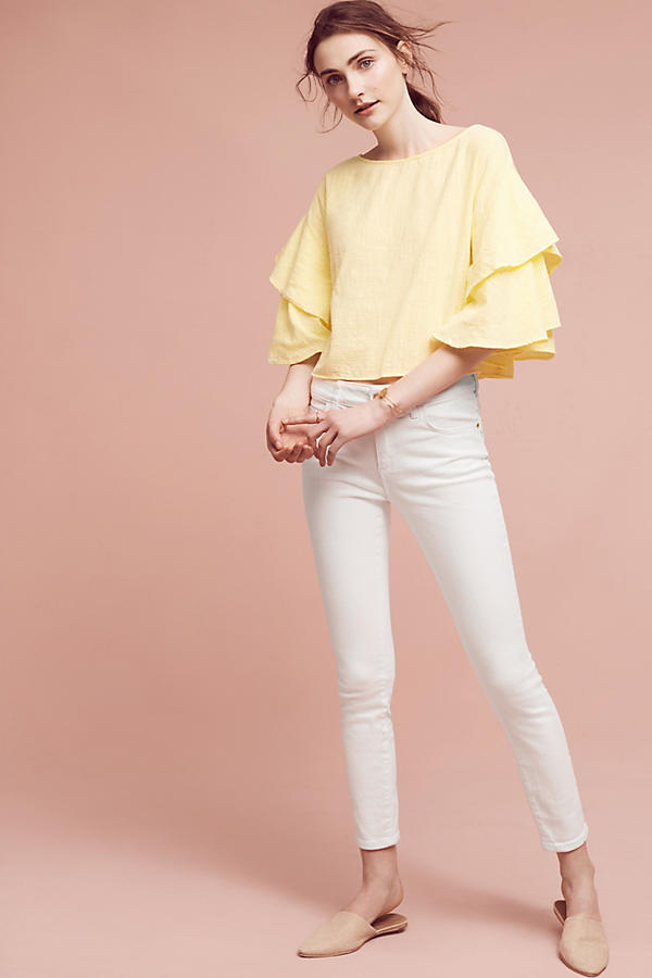 Anthropologie high rise jeans
