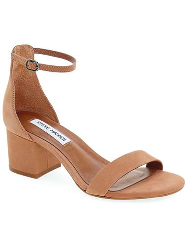 blush suede heels