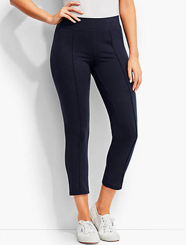 t by talbots navy leggings