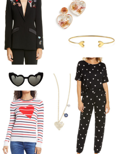 what to wear on valentines day heart fashion