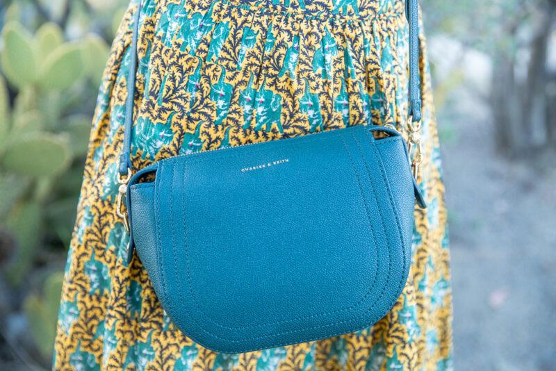 Charles keith green handbag