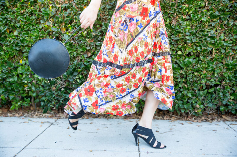 how to wear floral prints