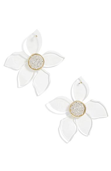 2c49118b6 Baublebar Lira Flower Drop Earrings