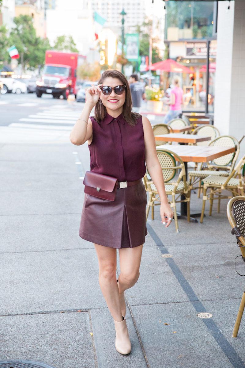 fall fashion in warm weather