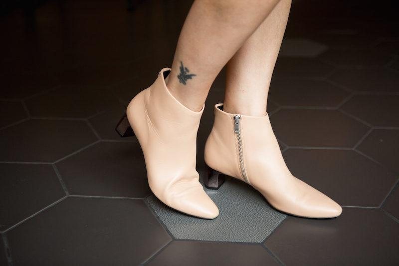 Low Heel Dress Booties