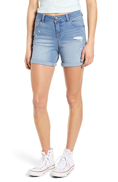 flattering womens shorts