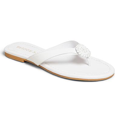 best white flip-flop