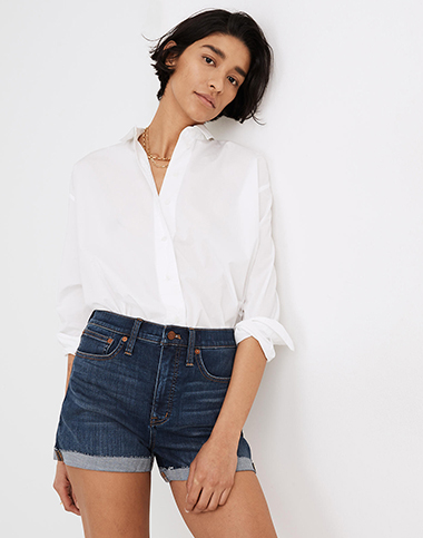 flattering women's shorts