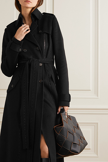 gabriela hearst cashmere trench coat splurge worthy coats