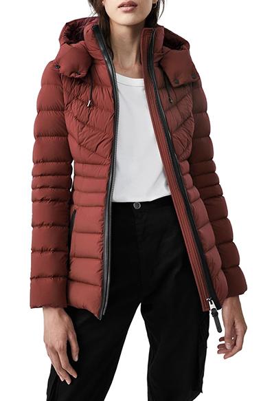 mackage patsy water resistant down coat