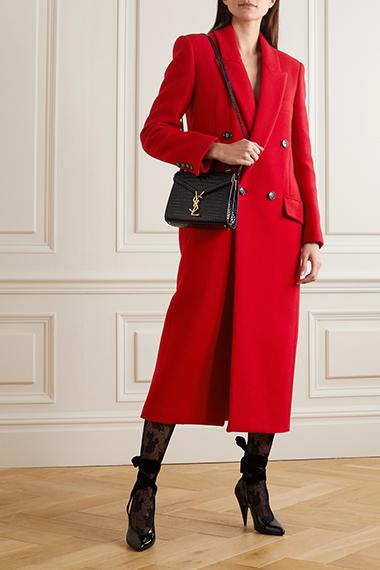 saint laurent splurge worthy winter coats