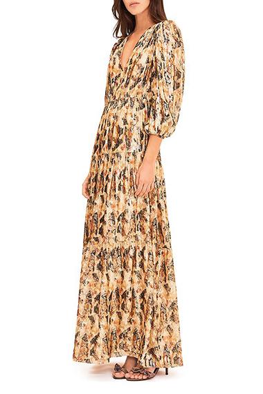 how to wear a bohemian maxi dress