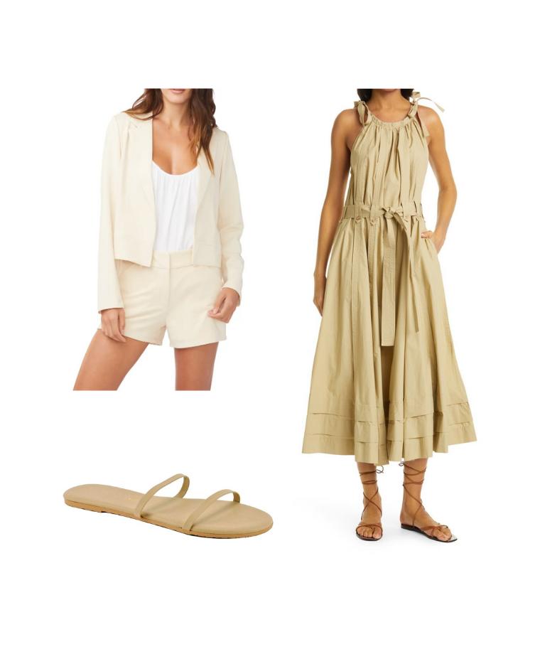 when to wear a blazer with a maxi dress