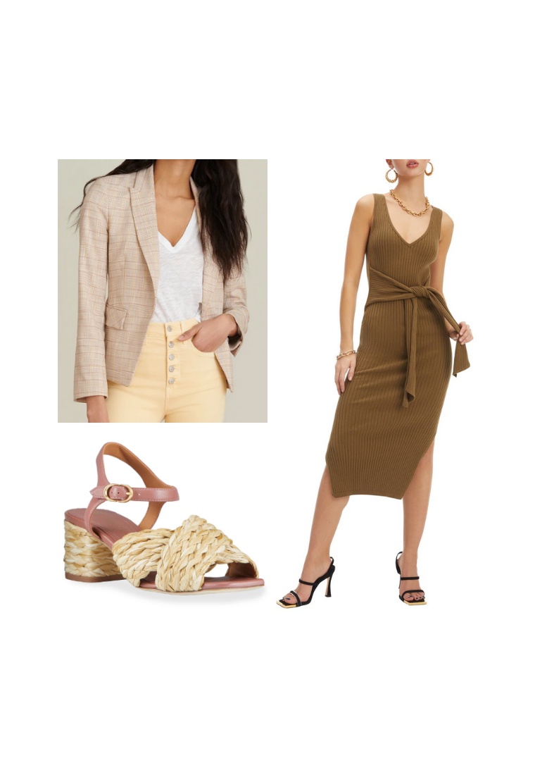 best outerwear for a maxi dress